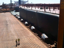 All secure: MoorMaster™ MM200B units at Utah Point berth, Port Hedland, Western Australia. #Cavotecfilm #mooring