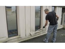 Rengör fasaden med Hagmans Underhållstvätt Tak/Fasad
