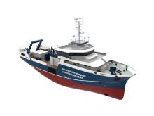 High res image - Kongsberg Maritime (Simrad) - INIDEP vessel