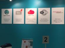 Q-channel´s produktområden presenterades på Butiksleverantörsmässan 2015 i Kista