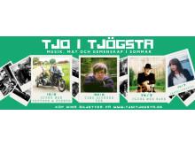 Tjo i Tjögsta - Omslag