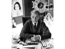 Pressbild 5. Freij möter Oddner (2). Georg Oddner i september 1958.