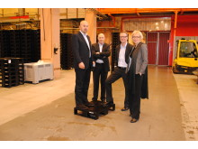 The Norwegian pooling company Rentpack AS buys 300 000 plastic pallets from Schoeller Arca Systems AB in Sweden