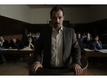 Adel Karam har en av huvudrollerna i ZIad Doueiris Oscarsnominerade drama Förolämpningen.