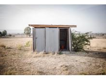 Toiletten in Sodo, Äthiopien
