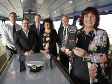 Stena Line celebrates Best Ferry Company Award