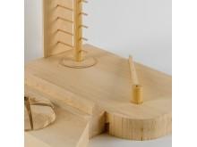 Arkitekturvisioner: Skeppsbron. Modell av arkitektbyrån ATHH