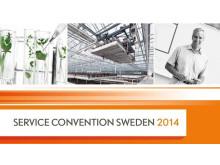Service Convention Sweden 2014