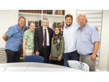 Utafor-gjengen på rabbinaren Melchiors kontor