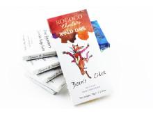 Bean's Cider – En syrlig äpplechoklad inspirerad av Roald Dahls Fantastic Mr Fox