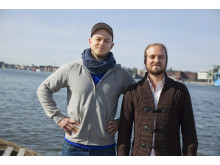 Daniel Wakeham och Tor Hedendahl, grundare av Artscape