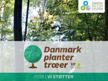 Dansk Retursystem støtter 'Danmark planter træer'