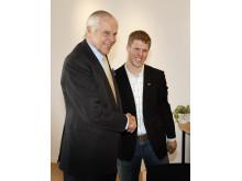 Anders Wall och Joakim Gustafsson