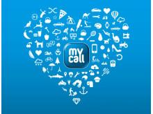 MyCall logo/grafikk