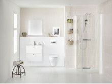 IDO Elegant Compact -alakaappi, Showerama 10-4, Glow 66 -seinä-wc