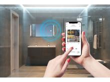 WHD - Unsichtbare Soundsysteme Badezimmerspiegel
