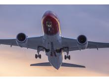 Norwegians 787 Dreamliner. Foto David Charles Peacock