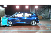 2017 Ford Fiesta - frontal offset impact test - Sept 2017