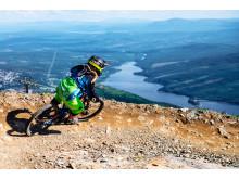 Downhillcykling på Åreskutan
