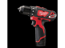 Milwaukee M12 BDD kompakt bore-/skruemaskine (2,0 Ah version)