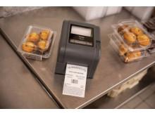 Brotehr TD-etikettskrivere for med direkte termisk utskrift og termo overføring.