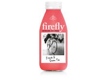 Fireflt PET Peach & Green Tea, 400ml