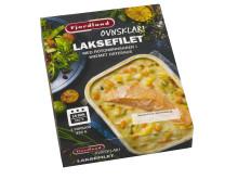 Fjordland ovnsklar Laksefilet med rotgrønnsaker i kremet ostesaus