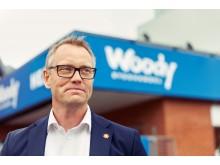 PRESSBILD: Fredrik Johanson, VD, Woody Bygghandel AB