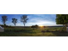 Blick von der Mantis Founder's Lodge auf die Weite der Provinz Ostkap in Südafrika