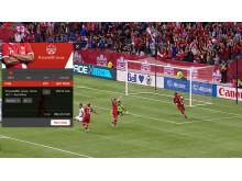 Promethean TV - Overlay example