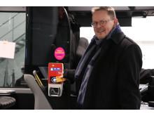 Lars Hansson, vice ordförande i kollektivtrafiknämnden.