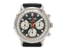 "Klockkvaliten 17/5, Nr: 120, VULCAIN, s.k. ""Blackout Wakmann"", kronograf, herrur, 39 mm"
