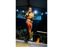 WE LOVE YOUGANDA: Octopizzo from Kenya performing in Kampala at the #weloveyouganda festival