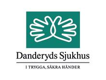 Danderyds sjukhus logo med devis