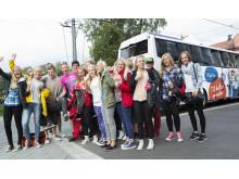 Tilbyr bussing for skoleklasser som vil ut på tur