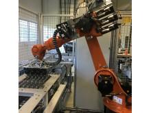 Robotisert monteringslinje