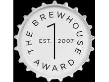 Logga The Brewhouse Award, vit