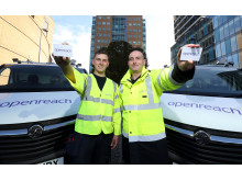 Openreach Northern Ireland engineers