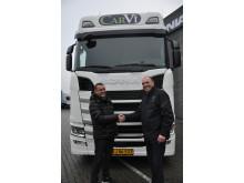 Ny Scania til Carvi Transport