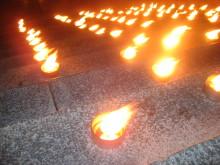 Marschaller till minne av dödade av rattfylleri