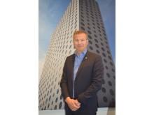 Hotelldirektør Björn Callin på Quality Hotel Friends.
