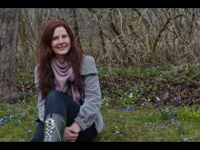 Kajsa Holst, projektledare Astrid Lindgrens Trädgårdar på Näs.