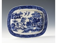 Dish, China. Egersund 1867-1876.