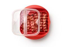 Baconbricka - stekt