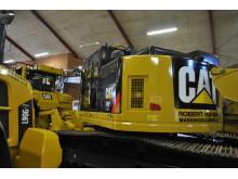 Robert Hansen har store forventninger til Cat gravemaskine 335F