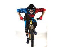 Robin på cykeln