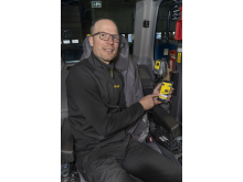 Tomas Wall, Product Manager i Engcon Control Systems