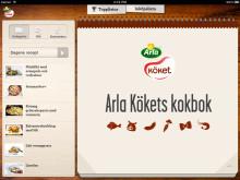 Recept från Arla Köket® nu i iPad!
