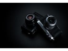FUJIFILM X-E3 Silver and Black