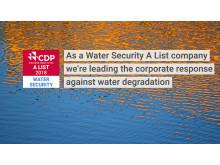 Auszeichnung für Wassermanagement